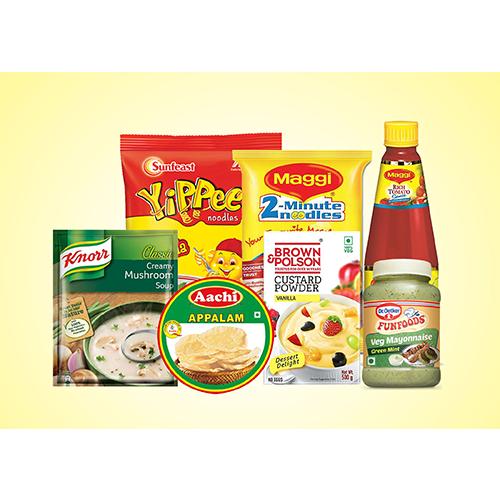 Noodles, Sauces & Instant Food